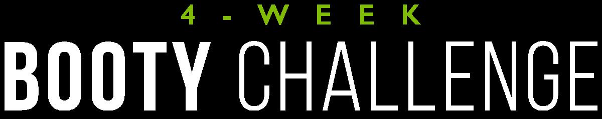 4-Week Booty Challenge